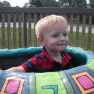 Chase at the playground (8/20/10)