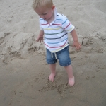 Trip to the Beach with Dadda (7/11/10)