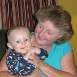 Chase and Grandma Rose (7/25/09)