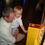 Chase playing at Family Fun Land (6/20/10)