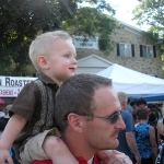 Chase at Strawberry Fest (6/26/10)